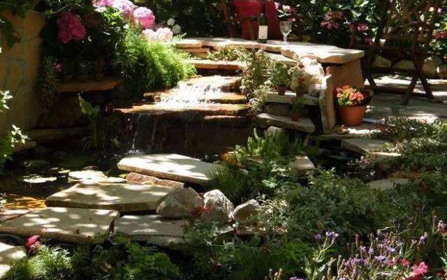 庭院设计之山石
