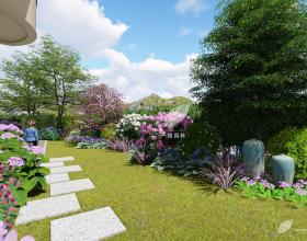 银涛高尔夫私家花园设计