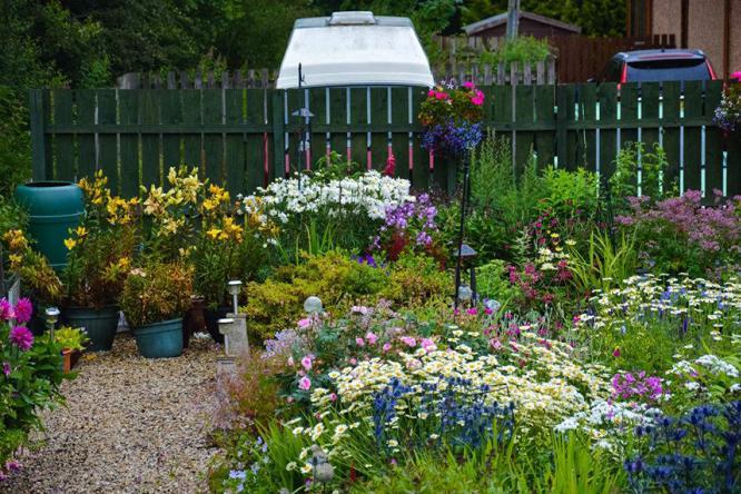 小花园大设计,最大限度实现空间利用哦