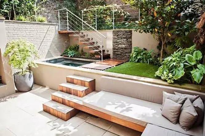 下沉式庭院景观的设计的意义所在
