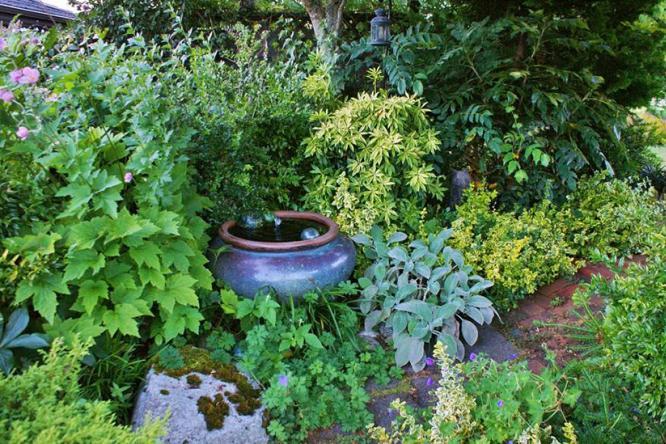 别墅花园设计怎么能少得了植物元素