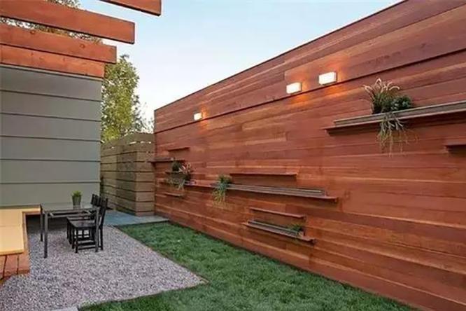 观赏私家庭院设计里的那些围栏