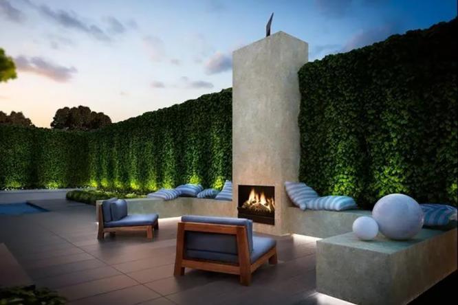 庭院设计中的灯光,让家更加浪漫