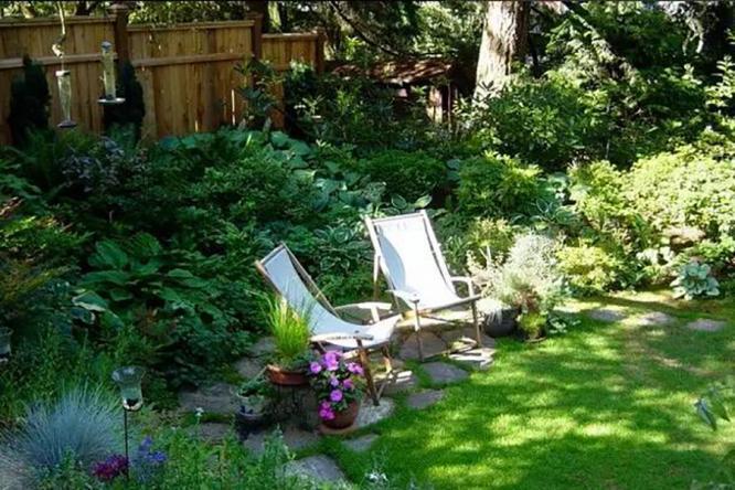 花园设计需要注重细节美,才能呈现出花园整体美景