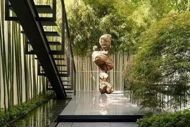 庭院里的翠竹,清气满院