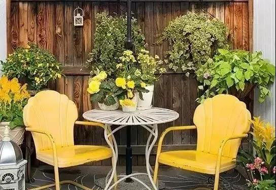 庭院设计中里的那些缤纷色彩