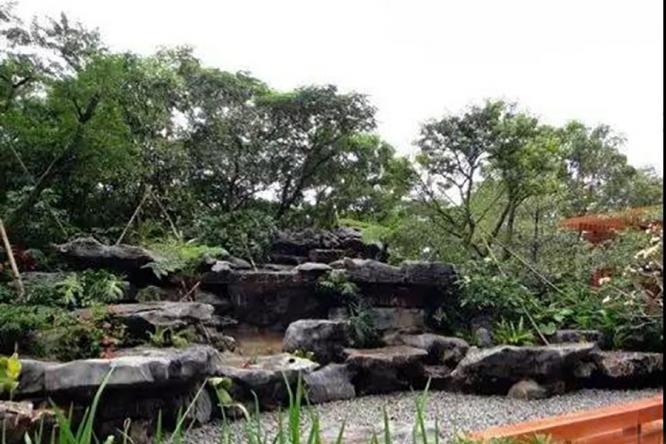 庭院设计之假山造景手法