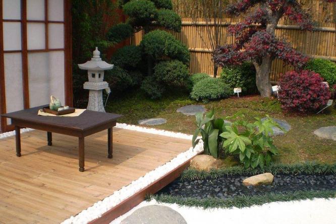 日式园林景观设计中的小品