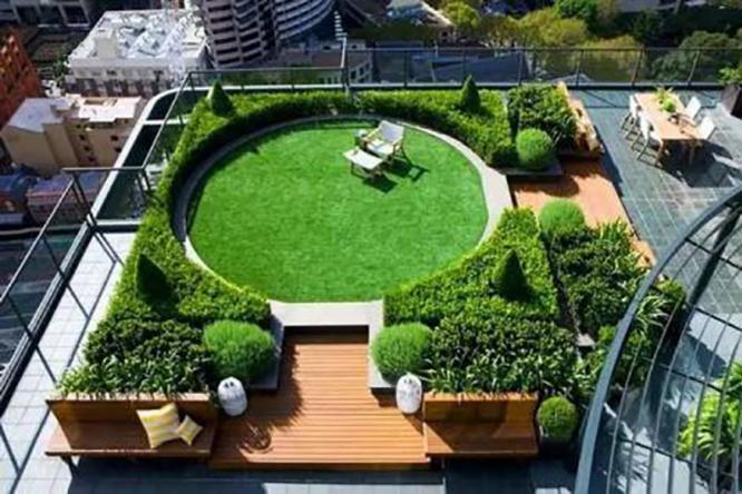 解说屋顶花园绿化,那些你不知道的艺术
