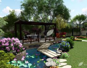 香格里拉太璞苑花园设计