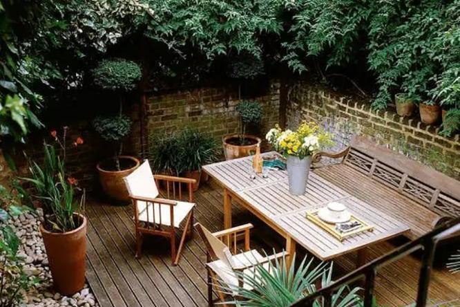 花园餐厅设计,为浪漫人生增添色彩