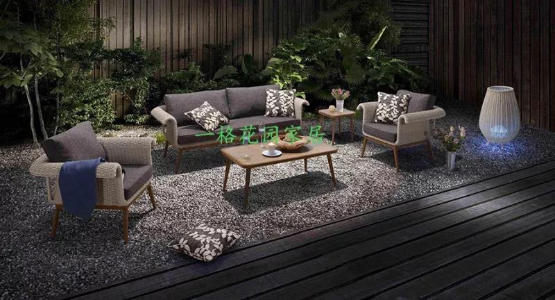 别墅花园庭院设计中户外家具应该如何选择