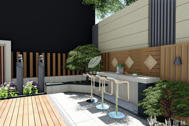 私家花园景观之阳台、露台装饰