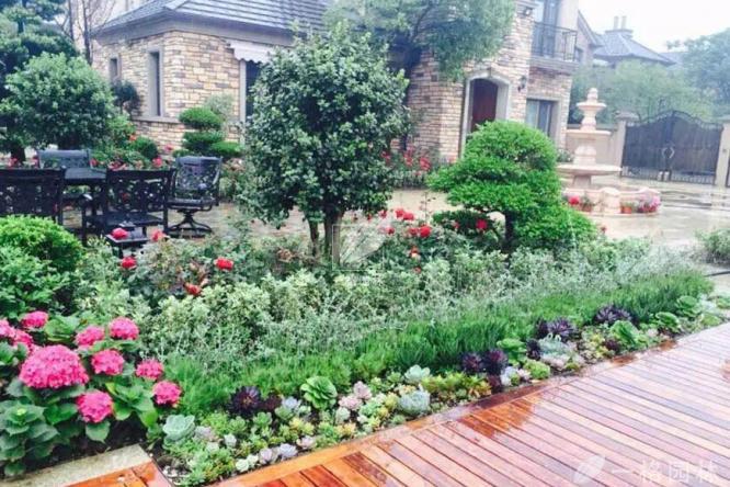 秋冬季节对花园庭院景观中植物的养护与管理