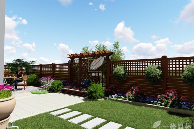 私家庭院设计中地面铺设方法整合