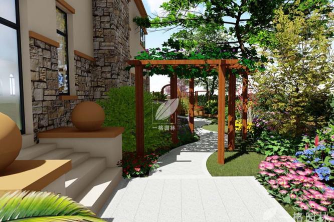 别墅花园庭院设计中最常见的三种风格:中式、日式、欧式