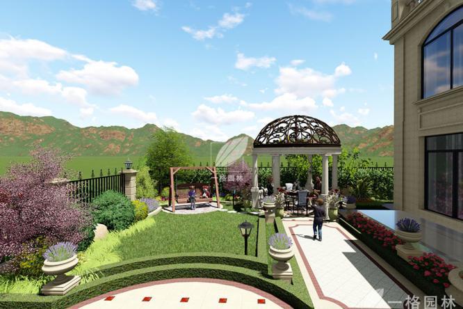 欧式别墅花园设计风格的经典之处