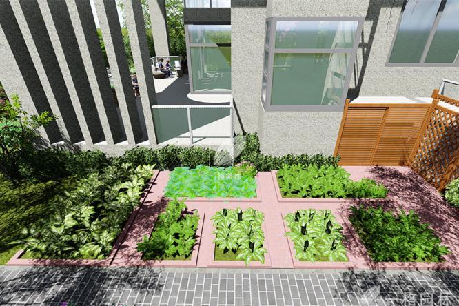 上海别墅花园之菜园乐趣