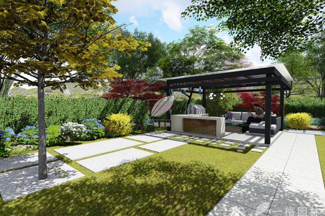 在你的别墅庭院内种上一颗树