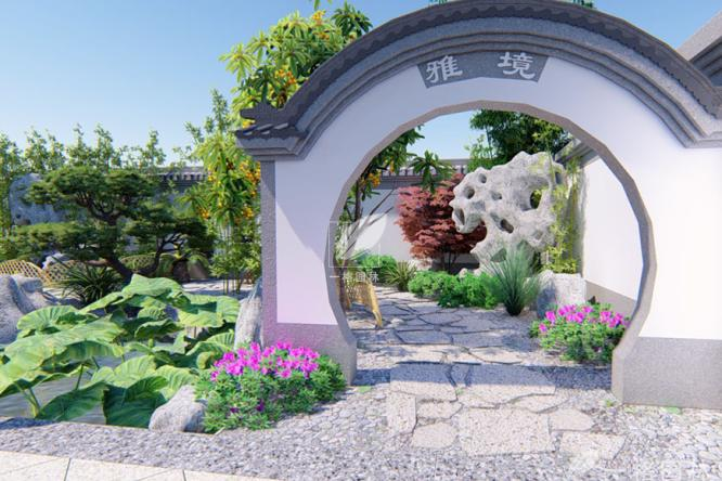 """花园设计中的美景,即讲究""""藏"""",又讲究""""漏"""""""