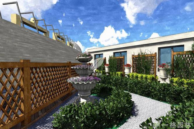 屋顶花园绿化施工的要点,不可不看哦