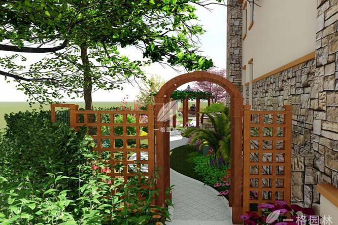 别墅花园设计之对花园门的赏析