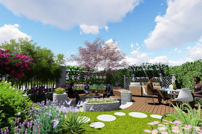 想要一个宽广、开阔的别墅花园景观吗?一格园林来支招吧