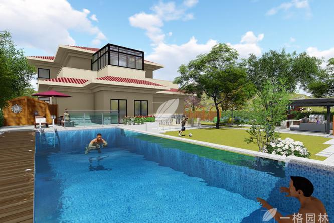 私家庭院景观设计之水景设计