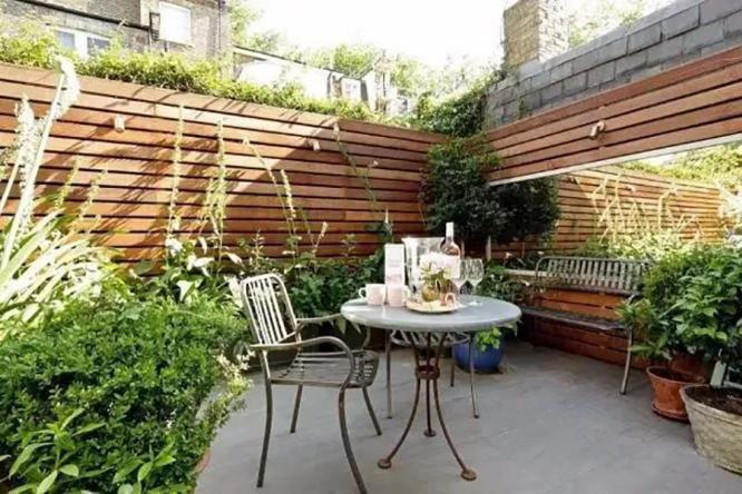 私家庭院景观百变围墙