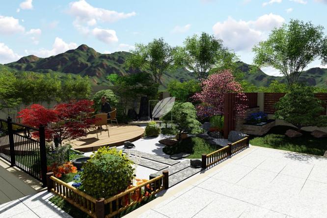 别墅庭院设计中植物搭配要素