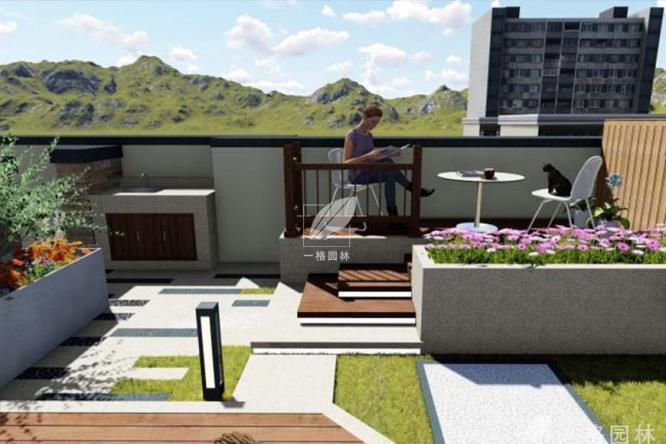 小面积的庭院景观如何设计?