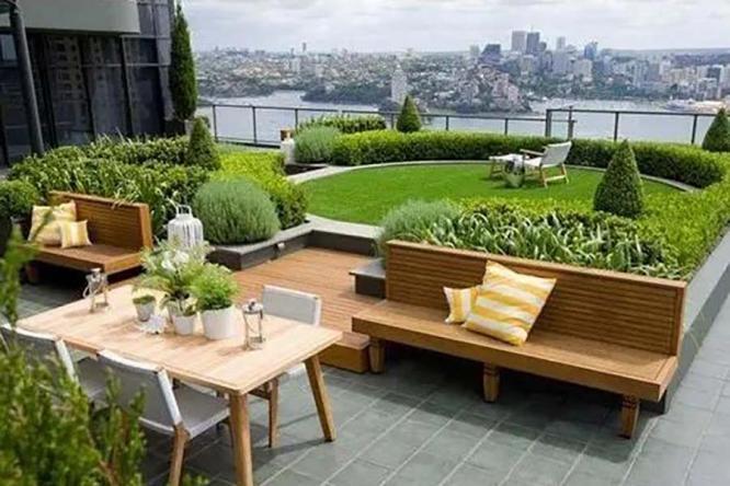 屋顶花园景观,方寸间自有美景