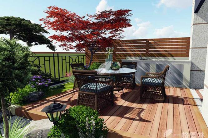 一格园林针对别墅花园设计总结规范与原则
