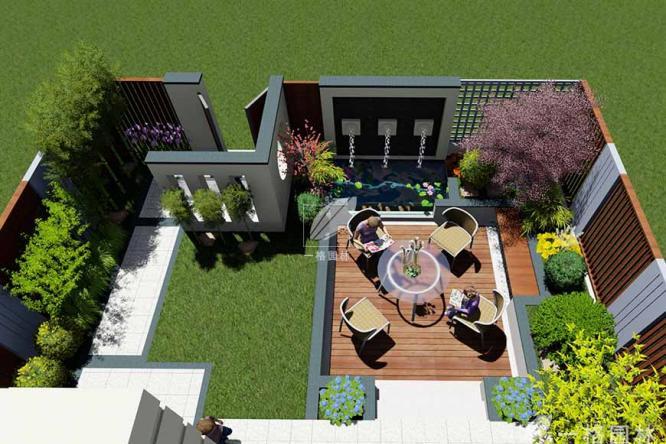 私家小庭院景观设计细节分析