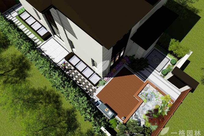 如何延长别墅花园设计景观里暖季型草坪的观赏期