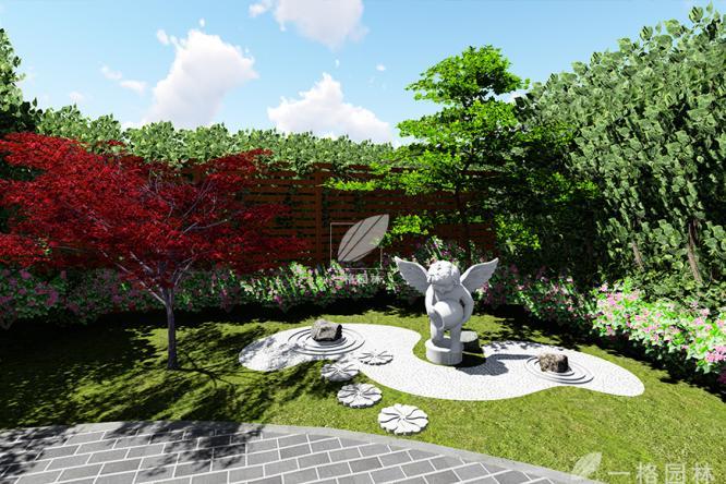 私家庭院景观里的灯光设计