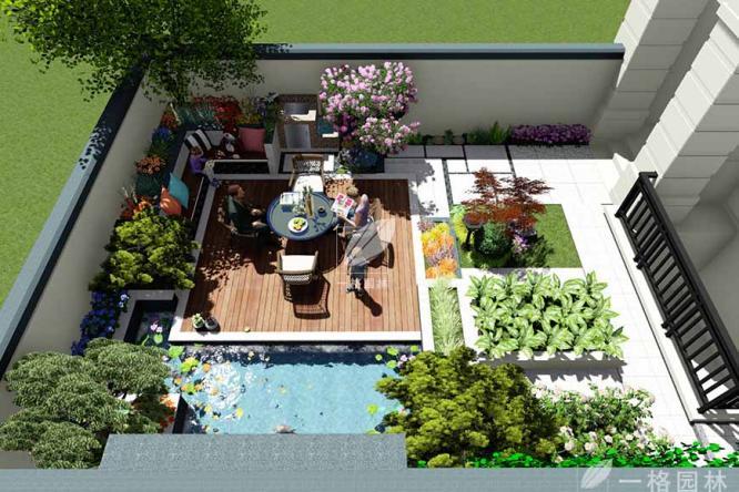 别墅庭院景观绿化如何做?