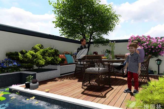 别墅花园设计施工中需要注意的细节