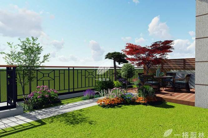 向往私家庭院景观里有花有茶的日子
