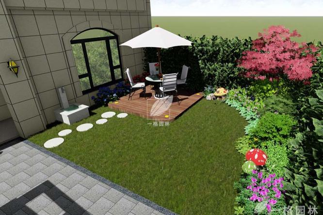 庭院景观小品,让私家庭院景观更有情调