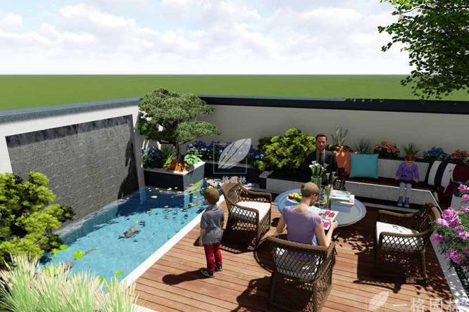 如何选择一款适合私家庭院的水景