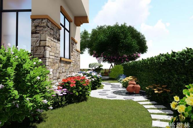 一格园林讲解别墅庭院设计的原则