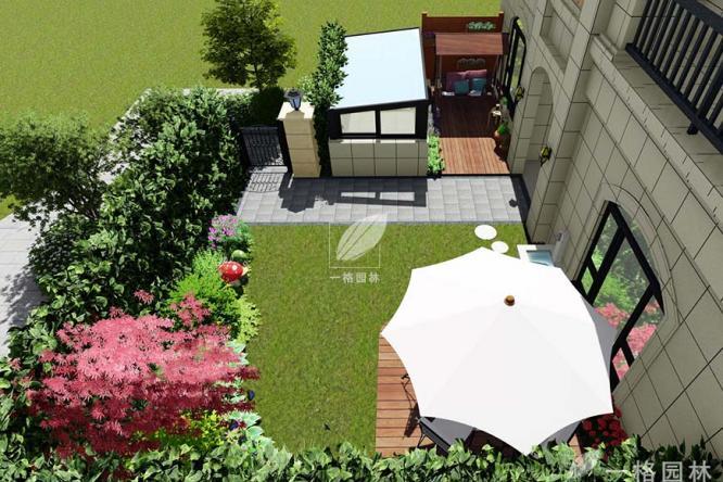私家花园设计之花园铺装细节