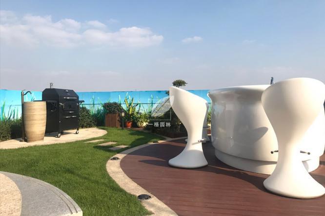 一格园林归纳屋顶花园绿化施工知识之屋顶防水层的构造问