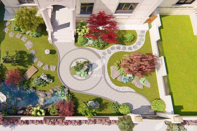 自建别墅庭院景观设计美过多少豪宅