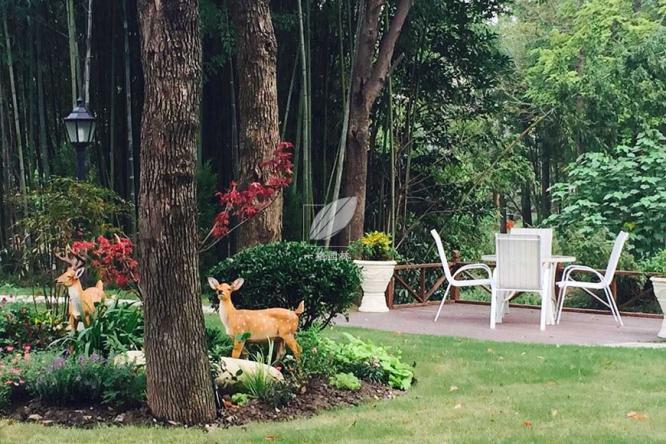 园林景观绿化公司讲解别墅花园设计装修如何选择施工材料