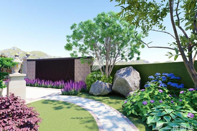 私家花园设计绿化中植物选择法