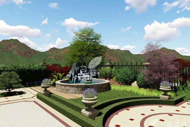 如何设计一款私家小花园