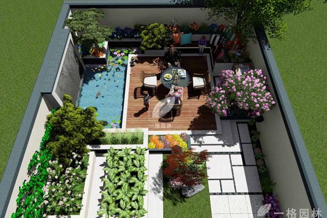 庭院小景体验趣味生活