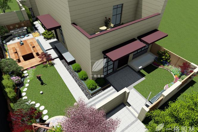 私家花园景观汀步设计,增添满满诗意效果